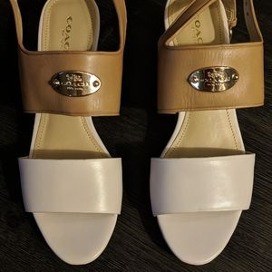 Coach Wedge Sandals